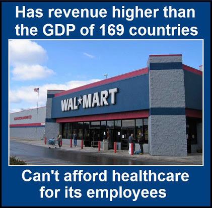 Walmart - health care