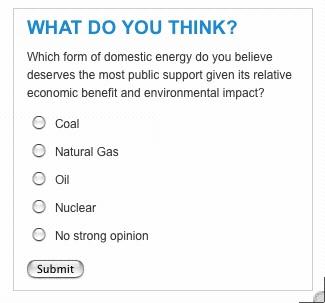 Domestic energy