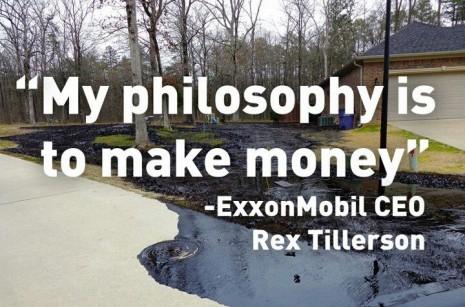 Exxon : money