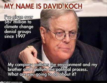 My name is David Koch