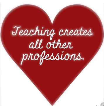 Teaching creates